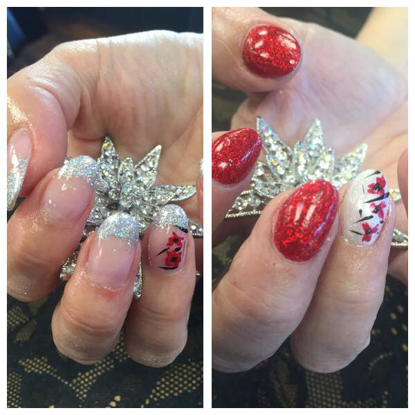 Nails Ready For Christmas